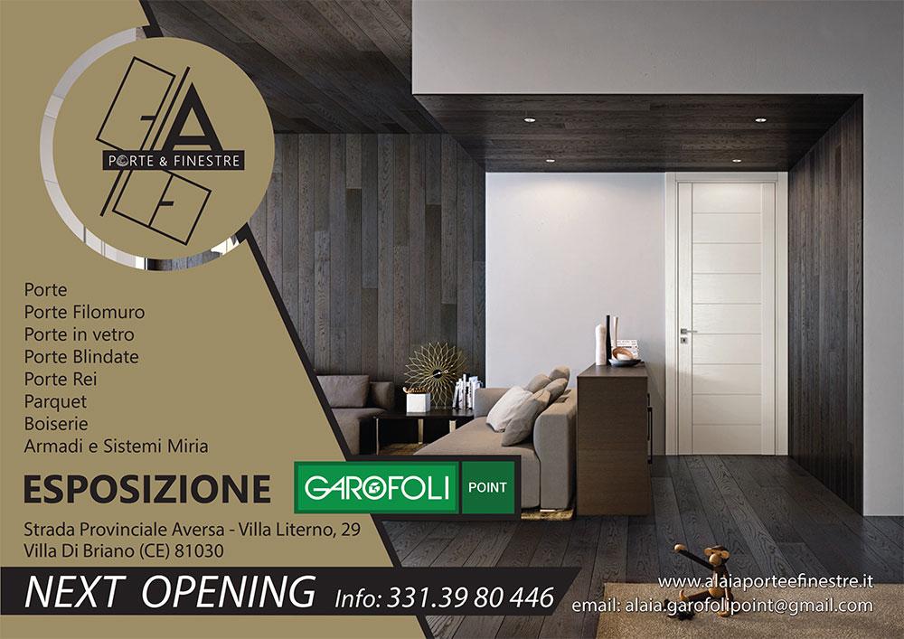 Garofoli Porte A Libro.Showroom Garofoli Point Caserta Aversa Campania Alaia